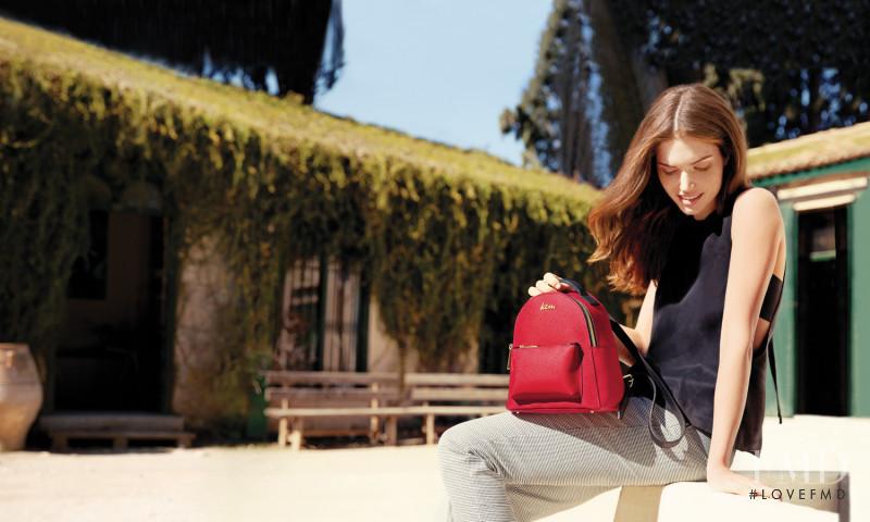 Mariangela Bonanni featured in  the KEM advertisement for Spring/Summer 2017
