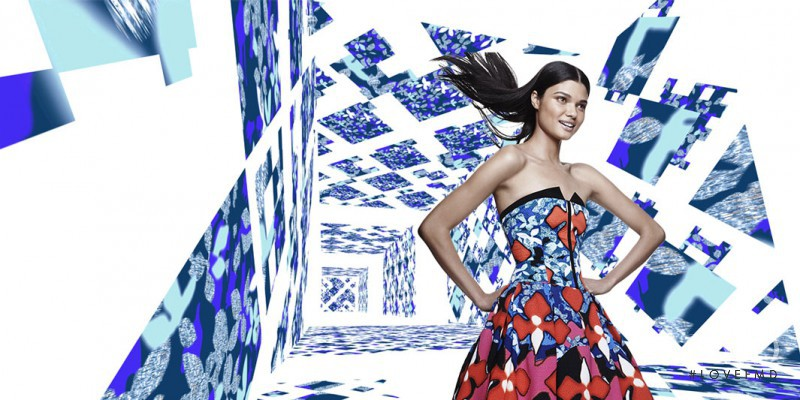 Daniela Braga featured in  the Target by Peter Pilotto advertisement for Spring/Summer 2014