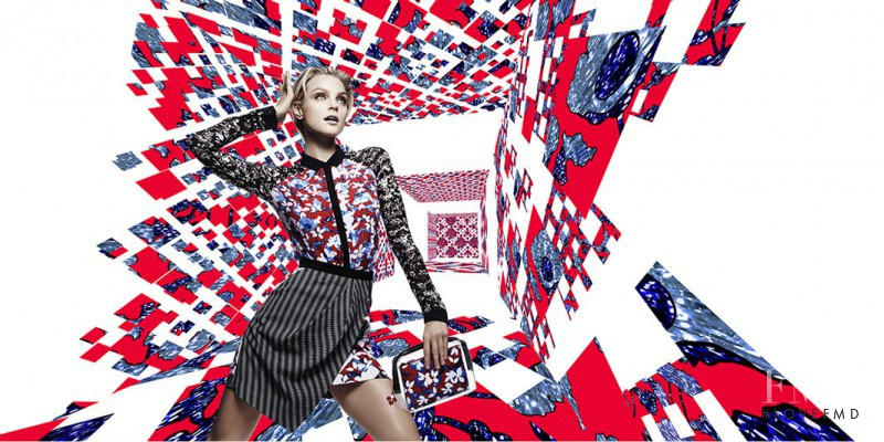 Jessica Stam featured in  the Target by Peter Pilotto advertisement for Spring/Summer 2014