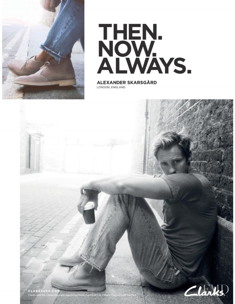 Clarks advertisement for Autumn/Winter 2020