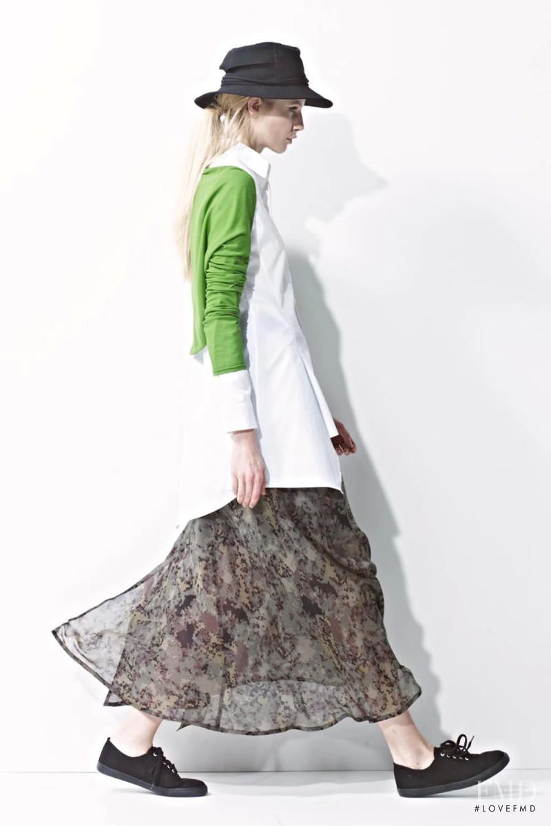 Yohji Yamamoto + Noir lookbook for Spring/Summer 2014