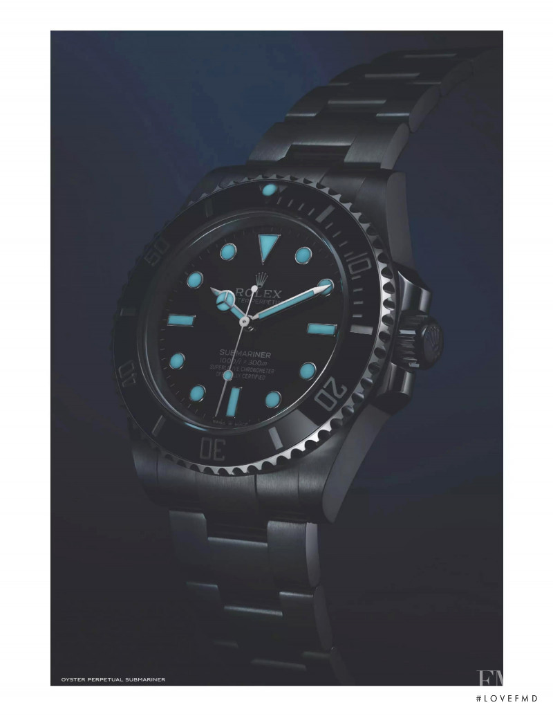 Rolex advertisement for Autumn/Winter 2020