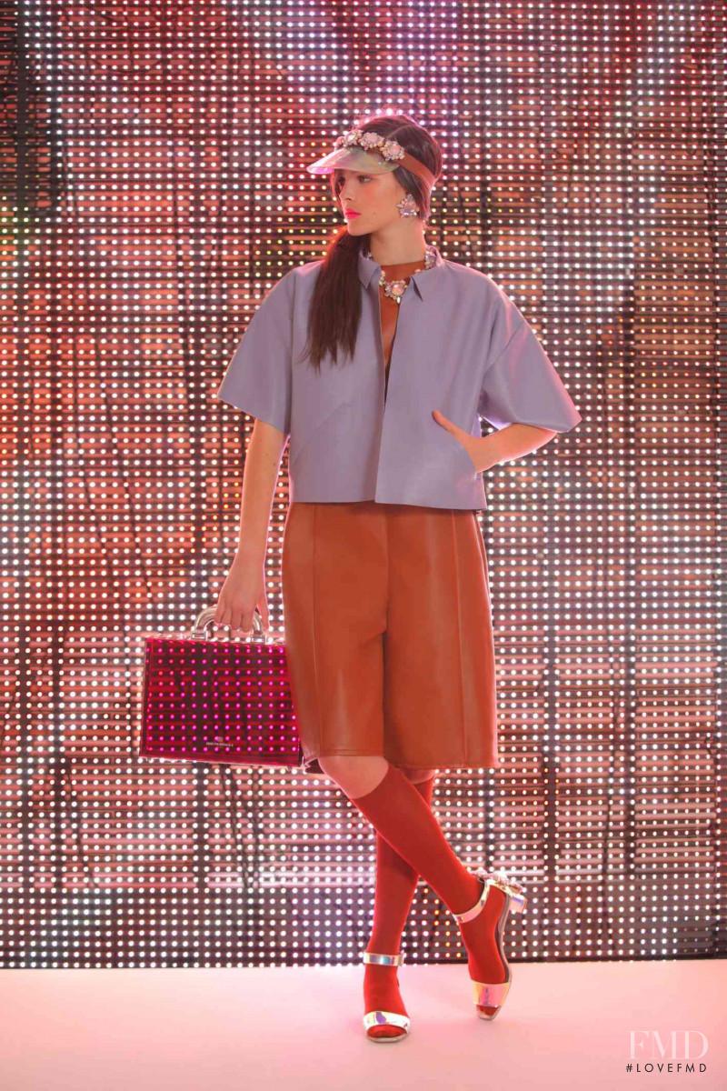 Vittoria Ceretti featured in  the Bruno Magli lookbook for Spring/Summer 2014
