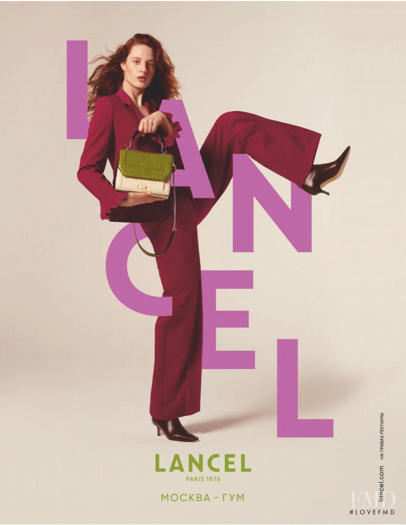 Lancel advertisement for Autumn/Winter 2020
