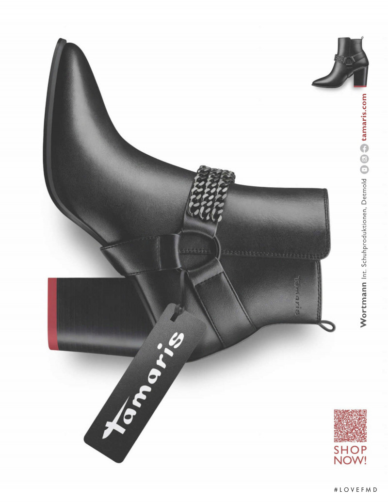 Tamaris advertisement for Autumn/Winter 2020