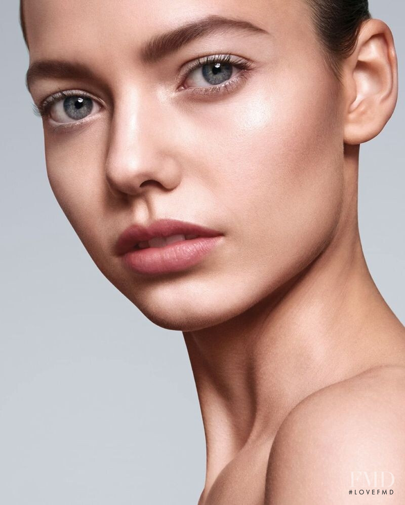 Mathilde Henning featured in  the Tom Ford Beauty Fondation advertisement for Summer 2020