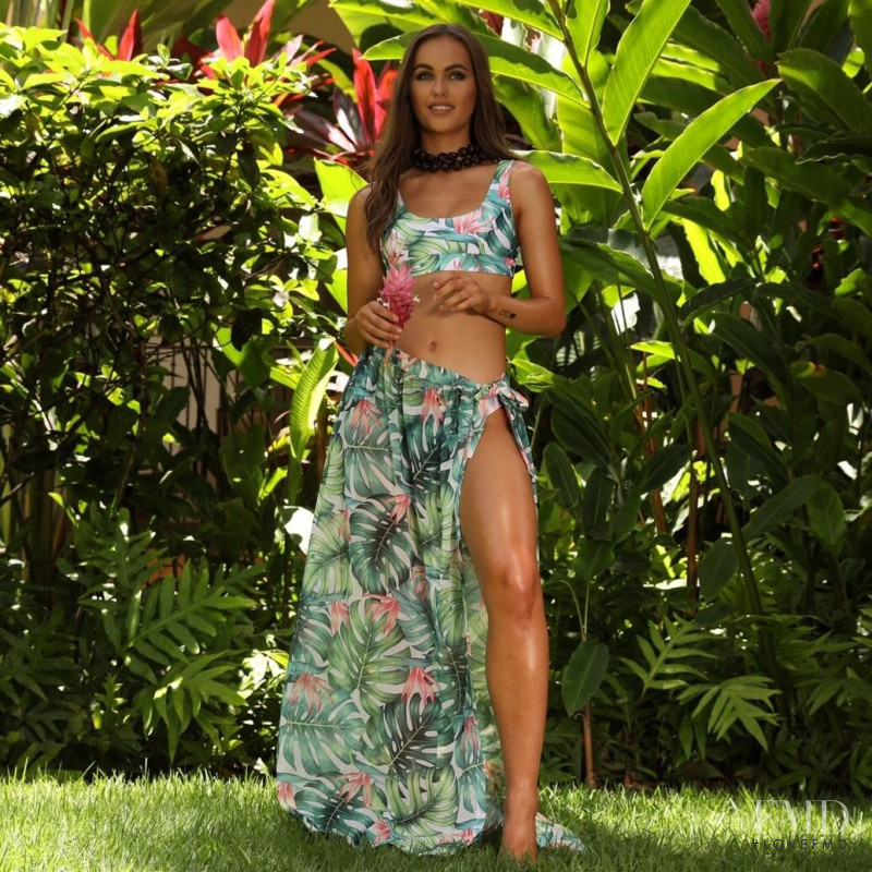 Madison Edwards featured in  the Kulani Kinis lookbook for Summer 2018