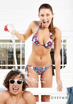 Simone Villas Boas featured in  the Delias catalogue for Spring/Summer 2009