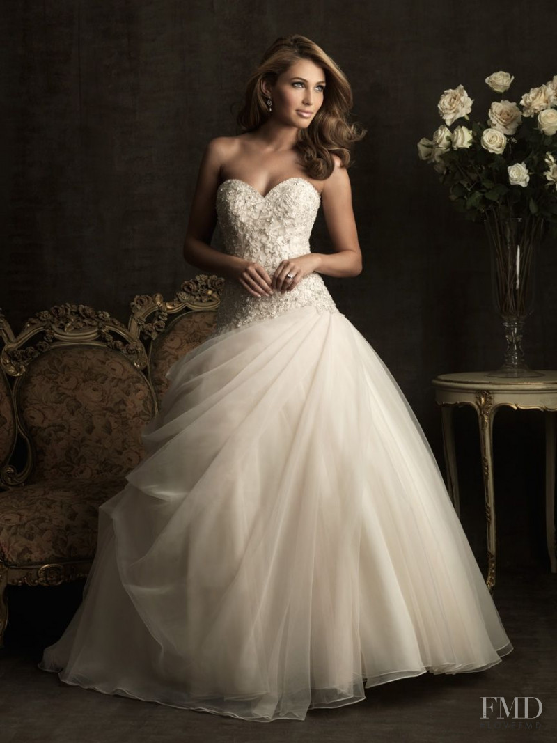 Simone Villas Boas featured in  the Allure Bridals catalogue for Winter 2011