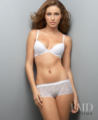 Simone Villas Boas featured in  the Macy\'s Lingerie catalogue for Spring/Summer 2010