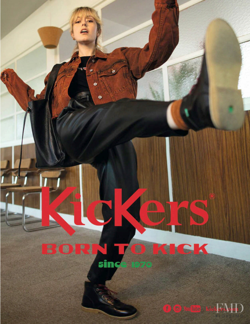 KicKers advertisement for Autumn/Winter 2020