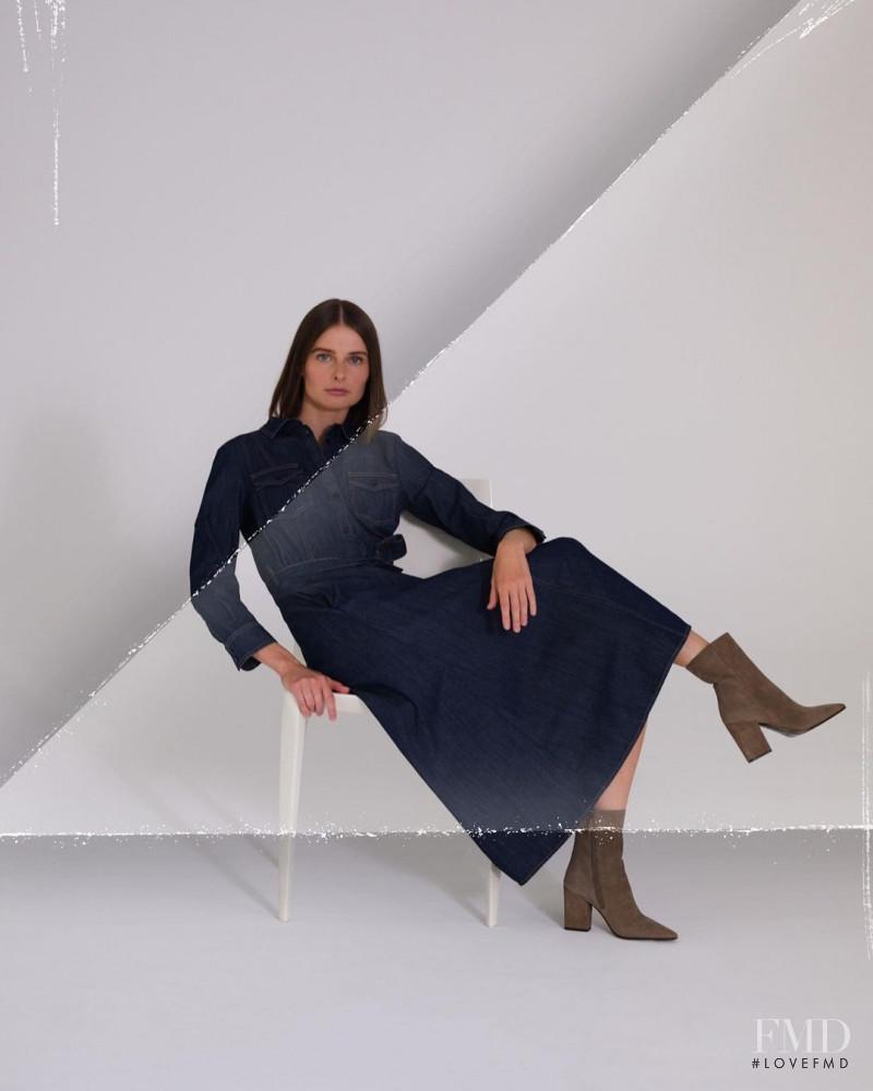 Vasilisa Pavlova featured in  the Marion Parke advertisement for Autumn/Winter 2020