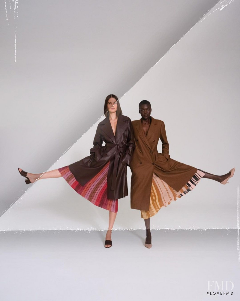 Awar Mou featured in  the Marion Parke advertisement for Autumn/Winter 2020