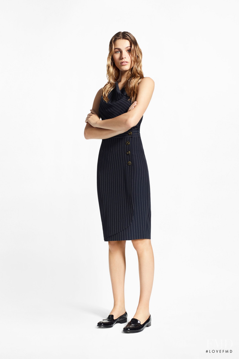 Madison Headrick featured in  the Brooks Brothers lookbook for Pre-Fall 2018