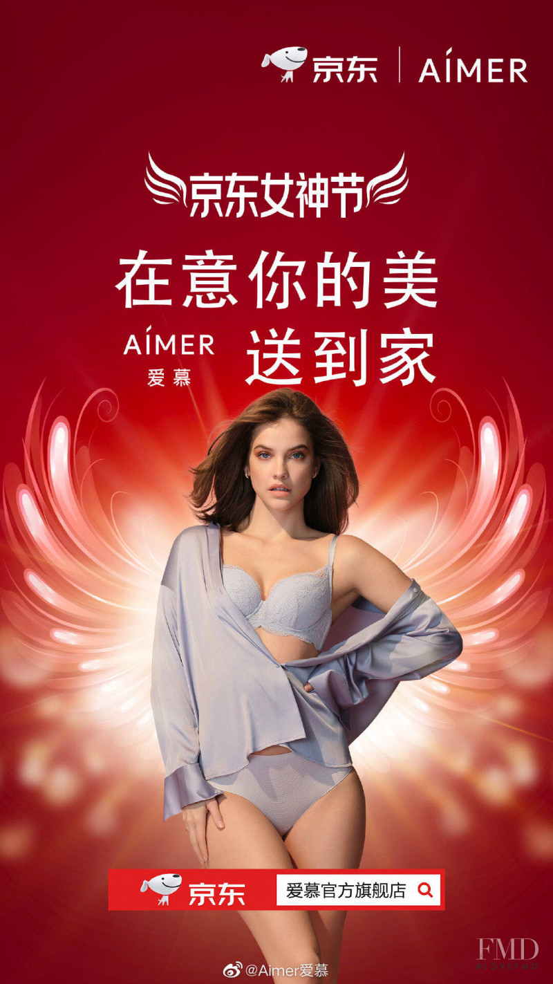 Barbara Palvin featured in  the Aimer advertisement for Spring/Summer 2020