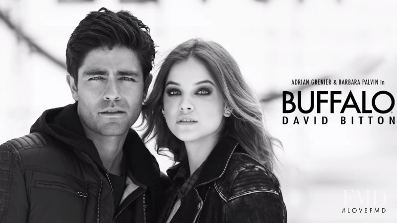 Barbara Palvin featured in  the Buffalo by David Bitton advertisement for Autumn/Winter 2015