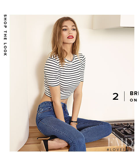 Samantha Gradoville featured in  the REVOLVE The Secret Recipe: 5 Ways to Get the French Look lookbook for Spring/Summer 2015