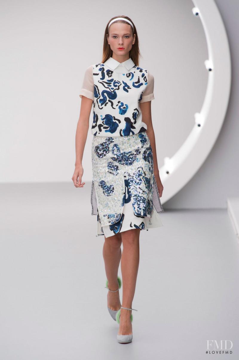 Michael van der Ham fashion show for Spring/Summer 2013
