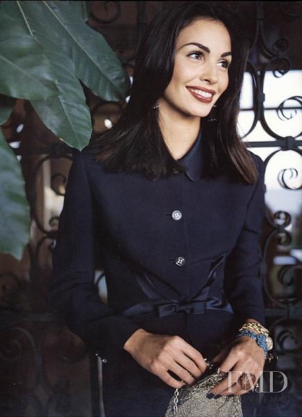 Ines Sastre featured in  the Giorgio Grati advertisement for Spring/Summer 1997