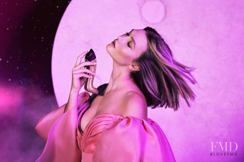 Karlie Kloss featured in  the Carolina Herrera New York Good Girl Fantastic Pink advertisement for Spring/Summer 2020