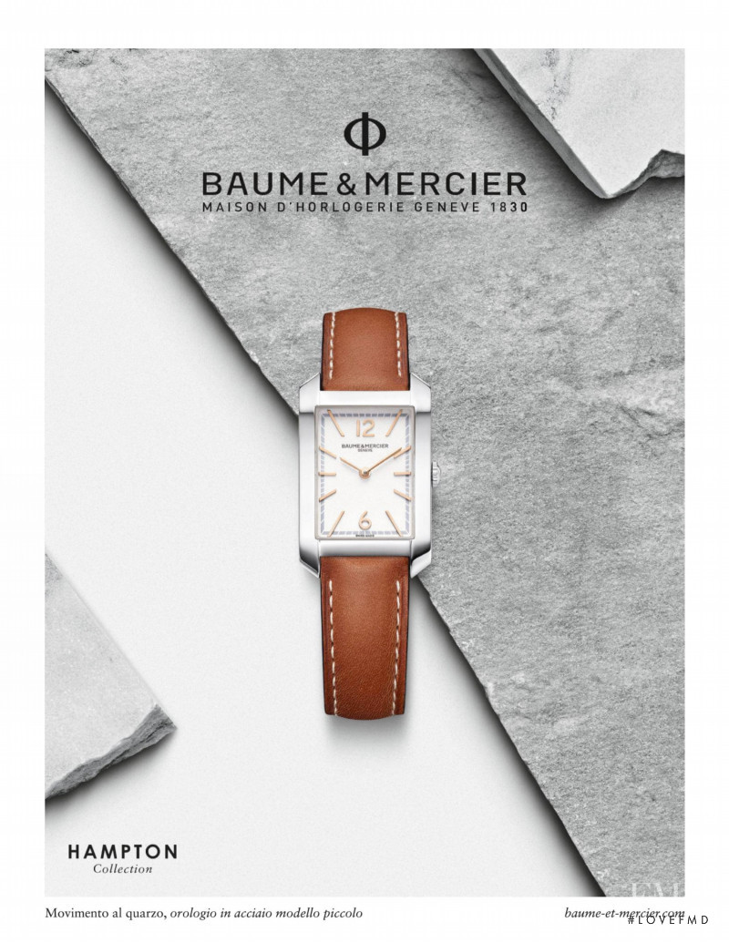 Baume et Mercier advertisement for Spring/Summer 2021