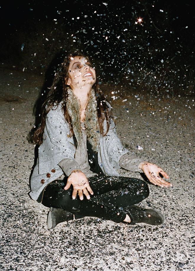 Sofia Arellano featured in  the Stussy lookbook for Autumn/Winter 2011
