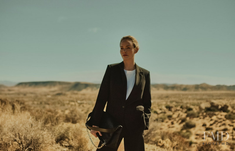 Amber Valletta featured in  the Karl Lagerfeld Karl Lagerfeld x Amber Valletta Collection advertisement for Spring/Summer 2021