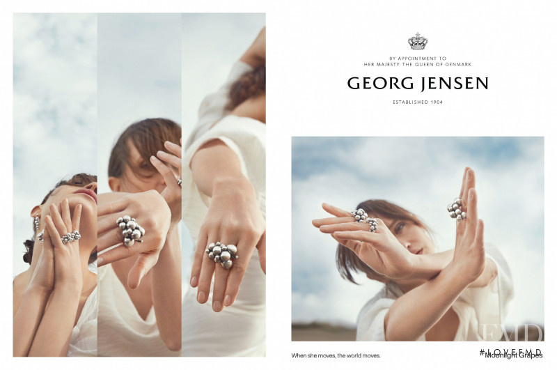 Georg Jensen advertisement for Spring/Summer 2021