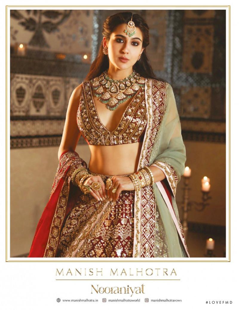 Manish Malhotra advertisement for Spring/Summer 2021