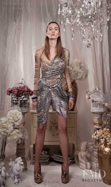 Ivana Stanojevic featured in  the Darko Kostic lookbook for Cruise 2011