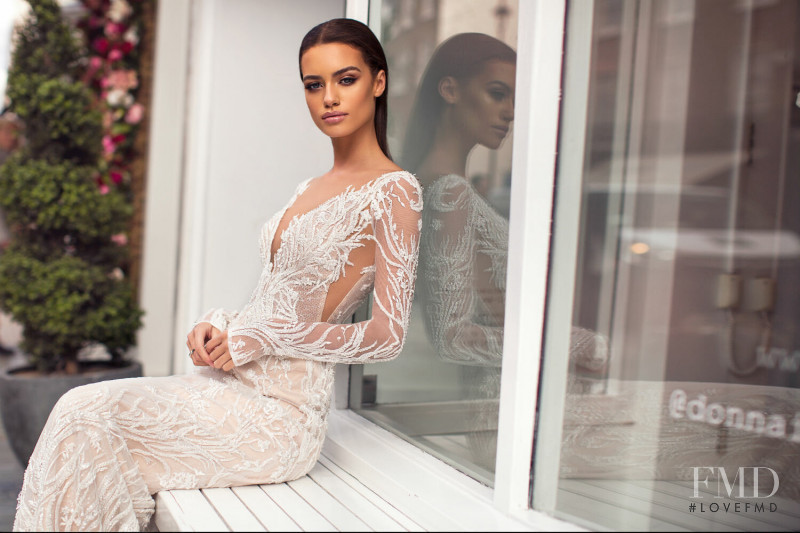 Elle Trowbridge featured in  the Milla Nova Blooming London Collection  lookbook for Spring/Summer 2019