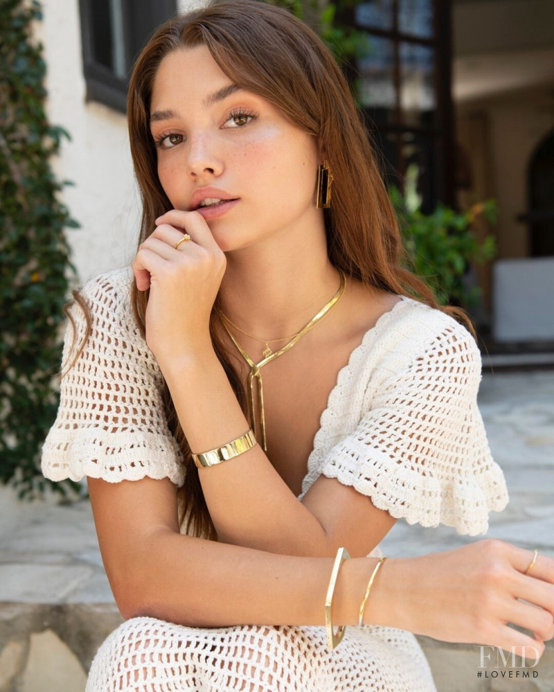 Madisyn Menchaca featured in  the Uncommon James lookbook for Spring/Summer 2021