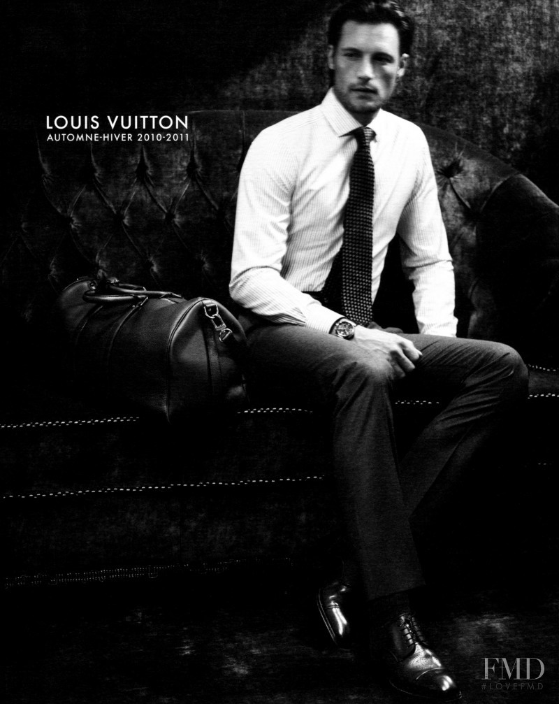 Gabriel Aubry featured in  the Louis Vuitton catalogue for Autumn/Winter 2010