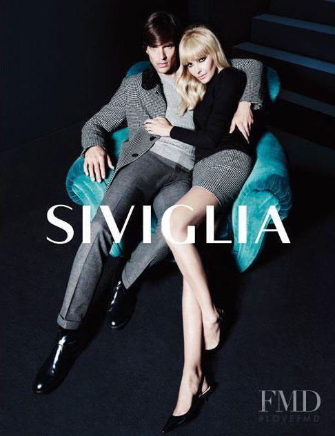 Snejana Onopka featured in  the Siviglia advertisement for Autumn/Winter 2012