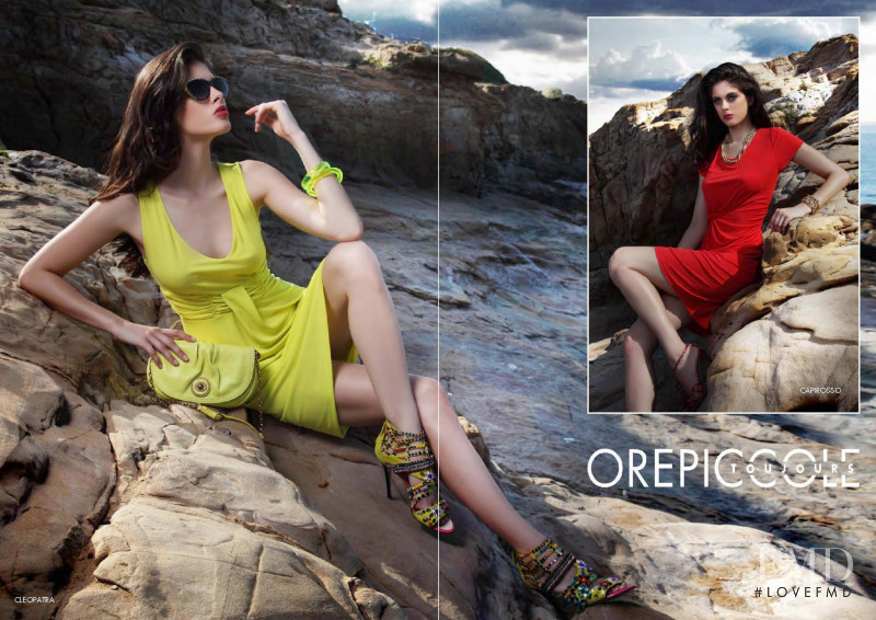 Charlie Robertson featured in  the OrePiccole lookbook for Spring/Summer 2013