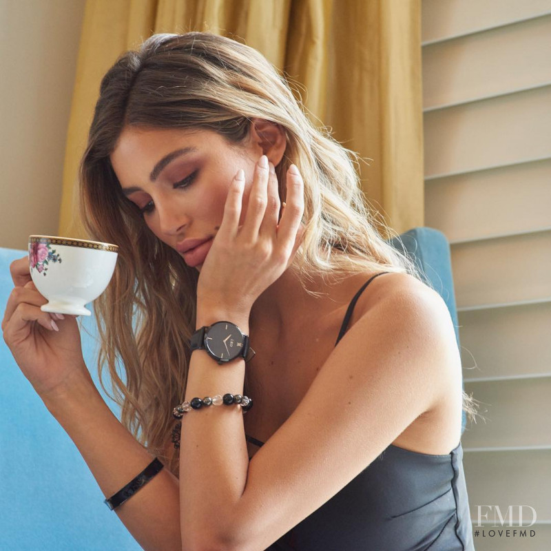 Belle Lucia featured in  the Laud Timepieces advertisement for Spring/Summer 2018
