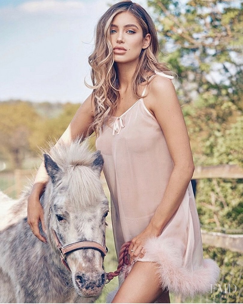 Belle Lucia featured in  the Lucia & Lace advertisement for Spring/Summer 2021
