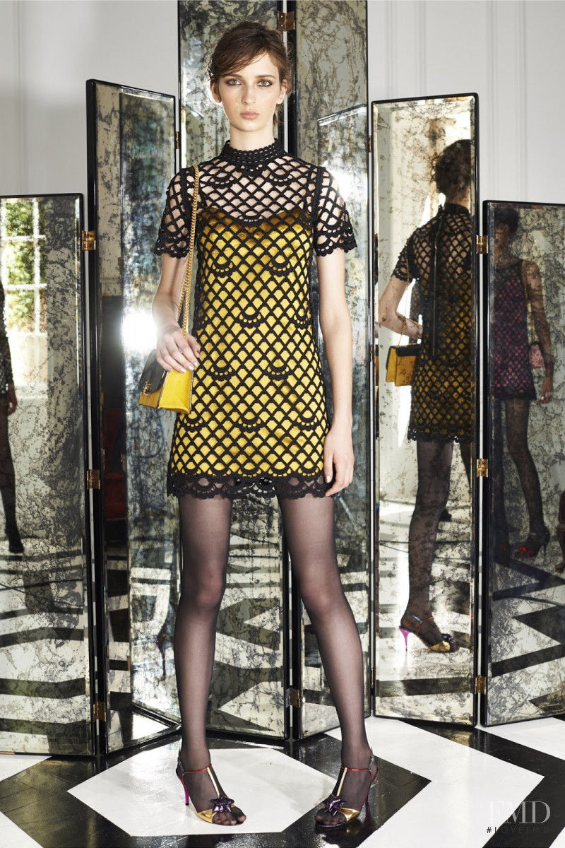 Waleska Gorczevski featured in  the Marc Jacobs lookbook for Resort 2015