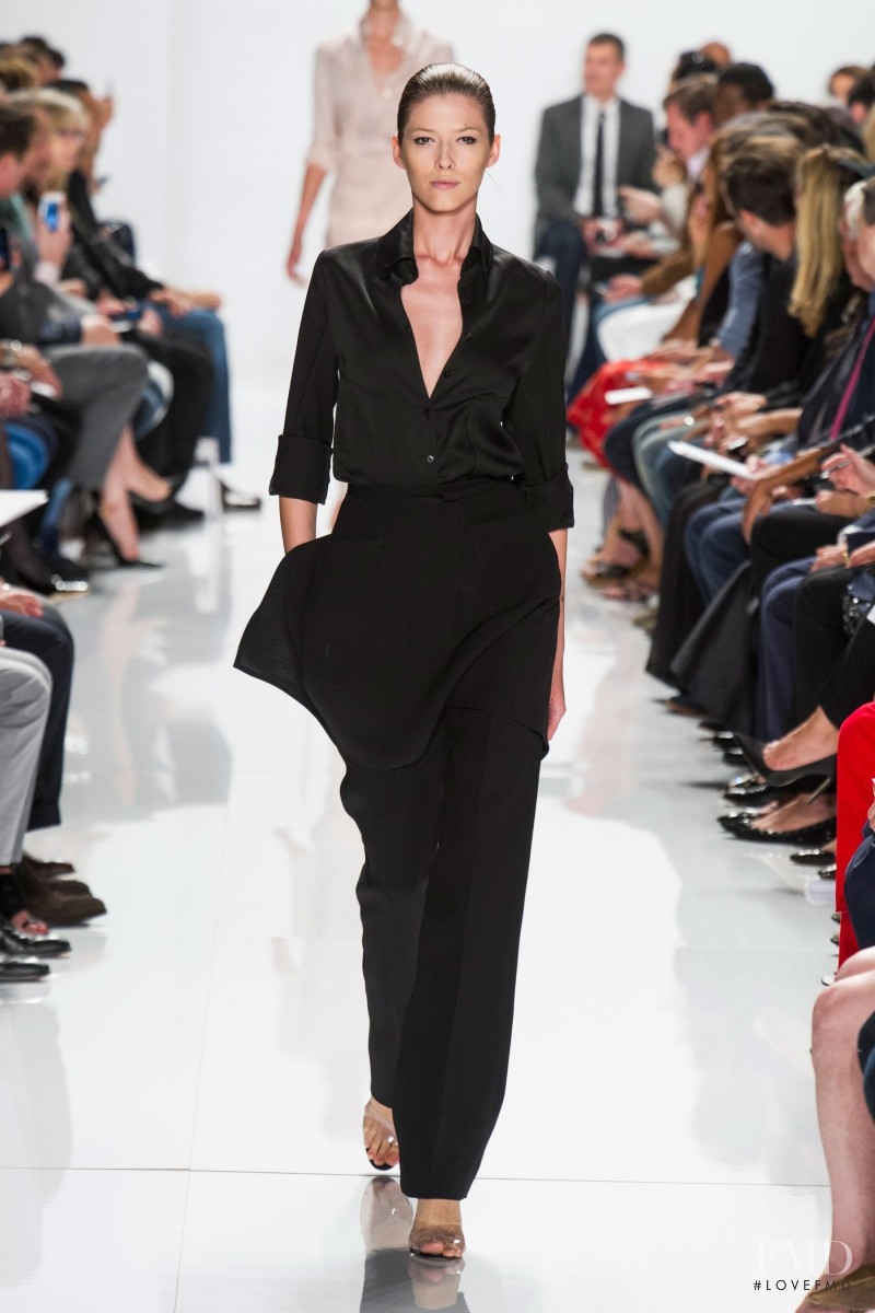 Ralph Rucci fashion show for Spring/Summer 2014