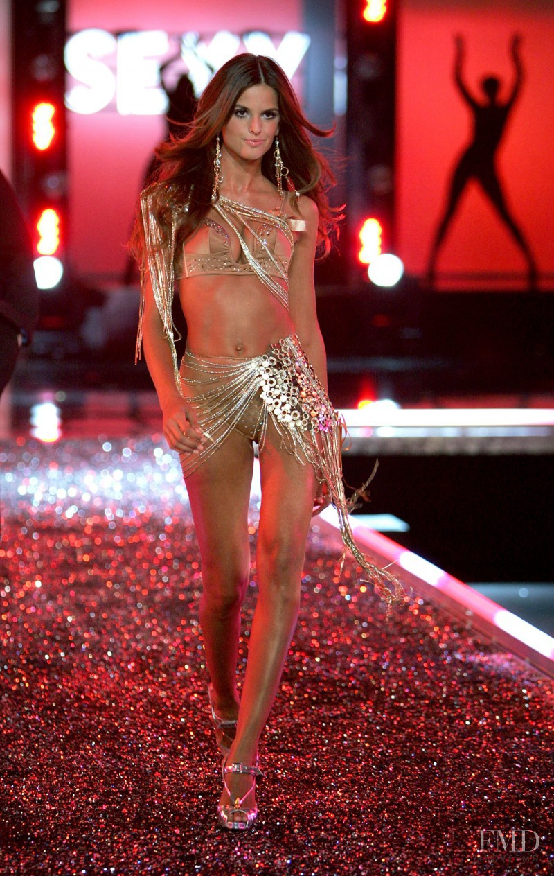 Izabel Goulart featured in  the Victoria\'s Secret fashion show for Christmas 2006