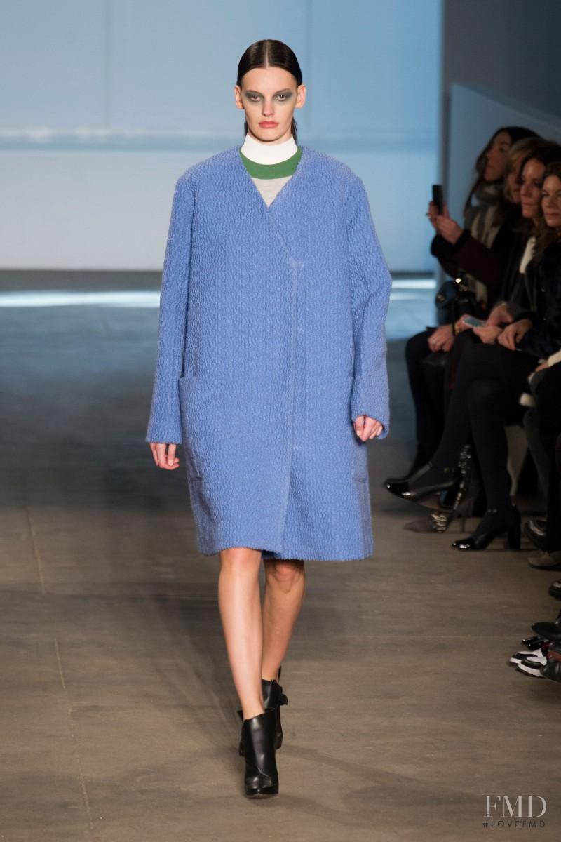 Amanda Murphy featured in  the Derek Lam fashion show for Autumn/Winter 2014
