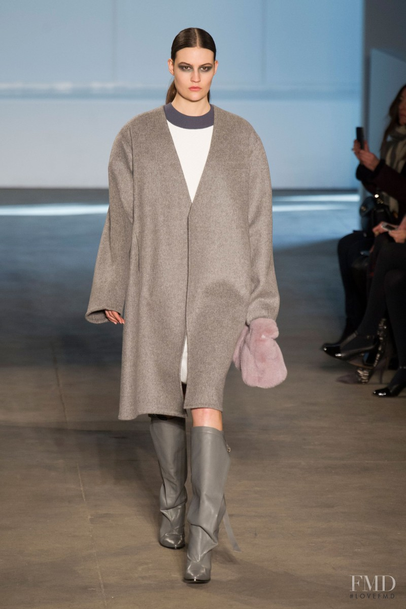 Maria Bradley featured in  the Derek Lam fashion show for Autumn/Winter 2014