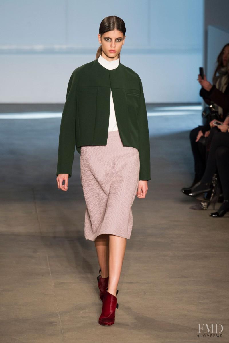 Antonina Petkovic featured in  the Derek Lam fashion show for Autumn/Winter 2014