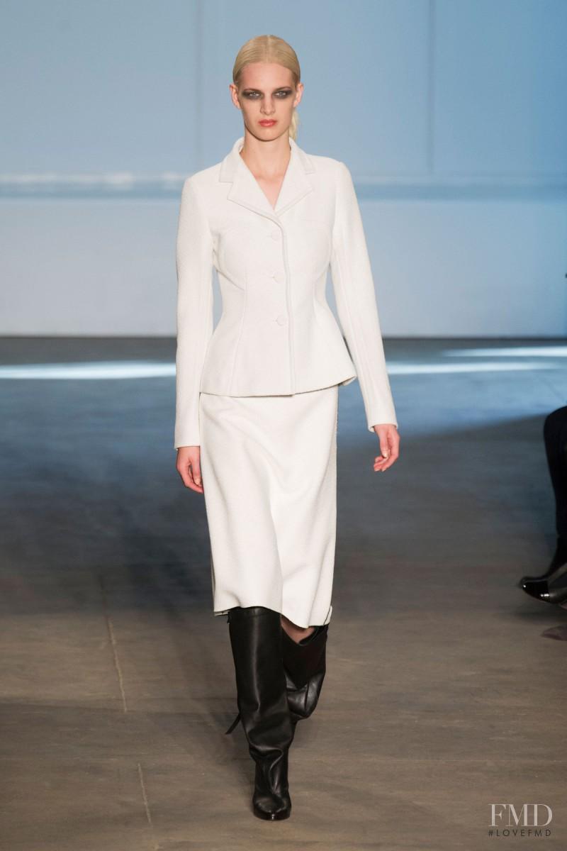 Ashleigh Good featured in  the Derek Lam fashion show for Autumn/Winter 2014