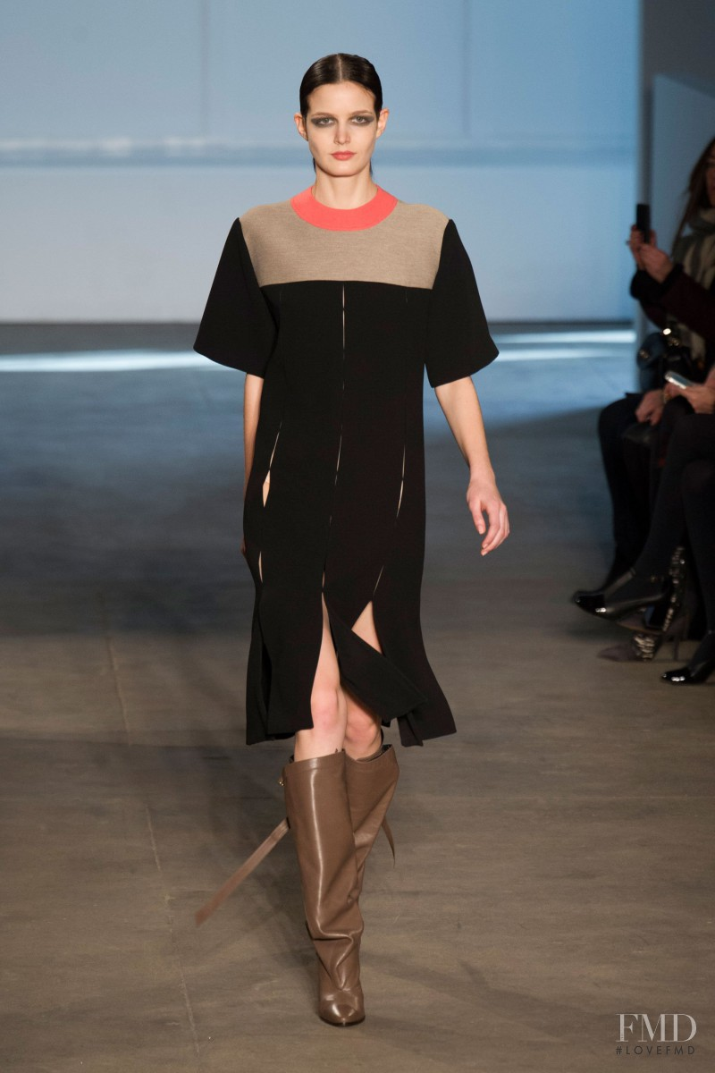 Zlata Mangafic featured in  the Derek Lam fashion show for Autumn/Winter 2014