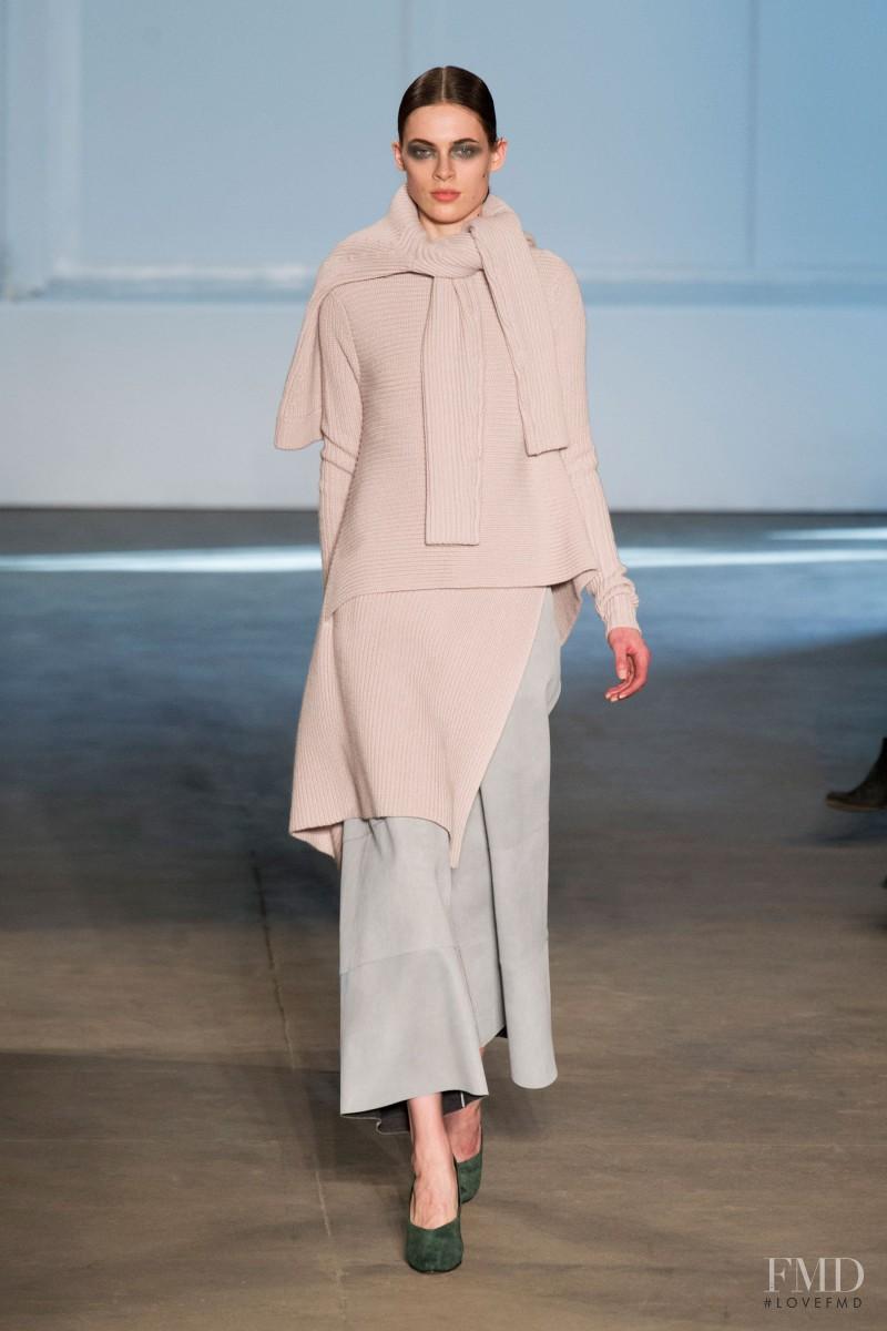 Kassandra Jensen featured in  the Derek Lam fashion show for Autumn/Winter 2014