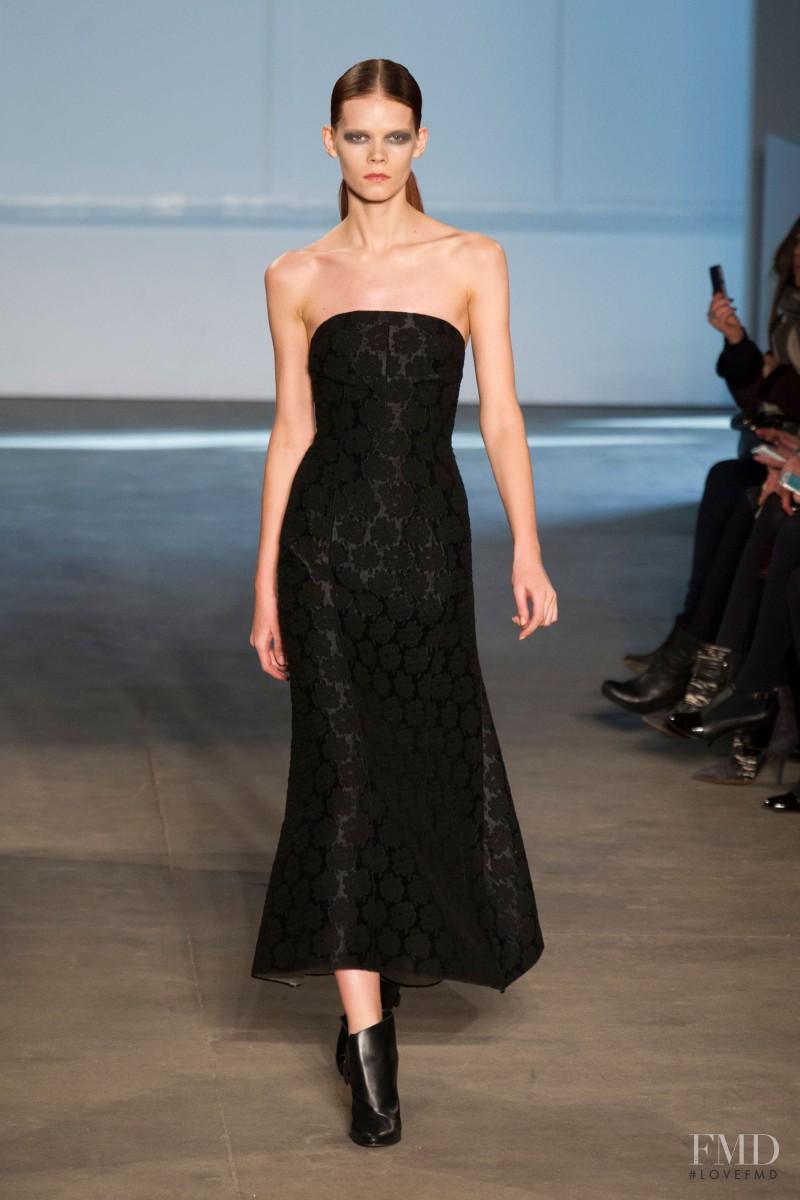 Irina Kravchenko featured in  the Derek Lam fashion show for Autumn/Winter 2014