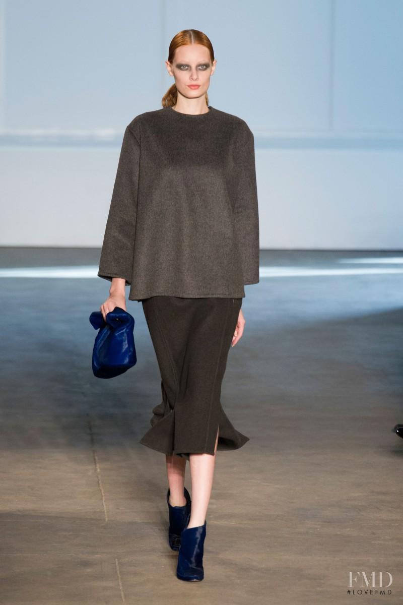 Thairine García featured in  the Derek Lam fashion show for Autumn/Winter 2014