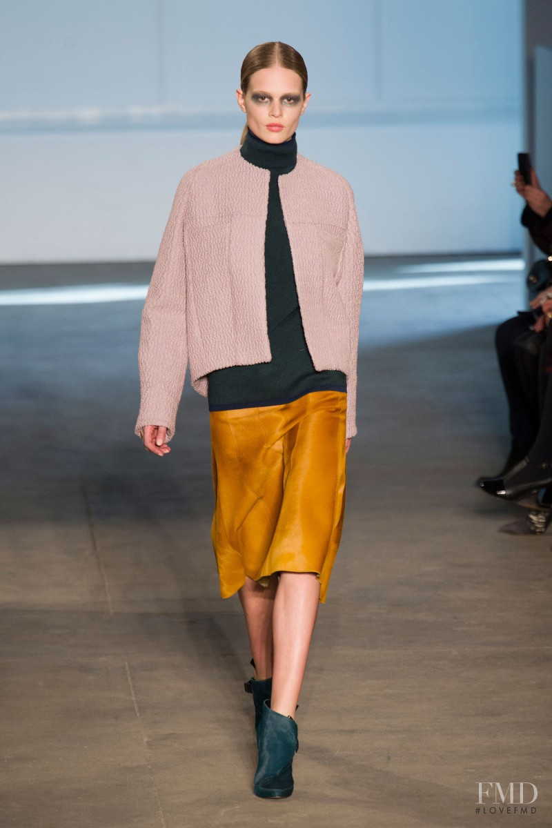 Anna Ewers featured in  the Derek Lam fashion show for Autumn/Winter 2014