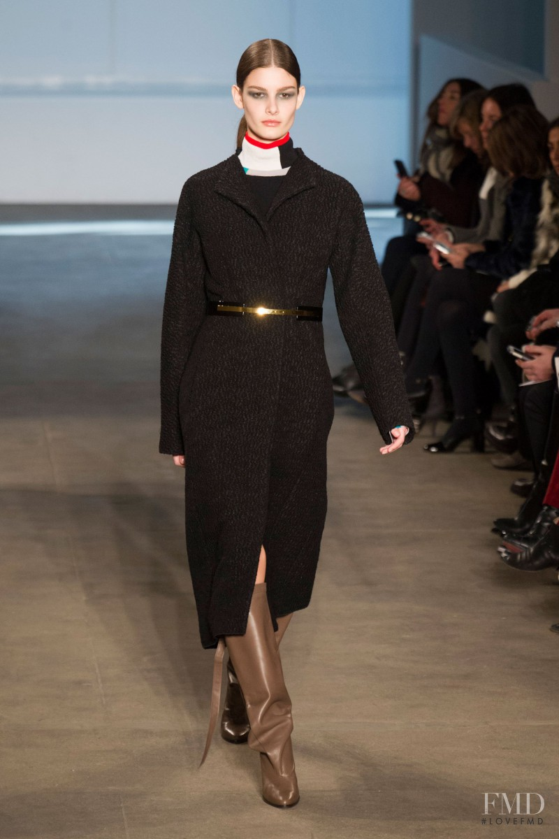 Ophélie Guillermand featured in  the Derek Lam fashion show for Autumn/Winter 2014